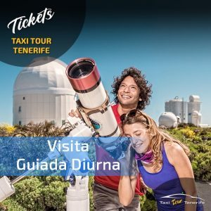 Tickets para el Observatorio del Teide, en TAXI, mucho mejor.